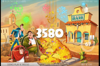 Taco Brothers Mobile Slot Bonus Win