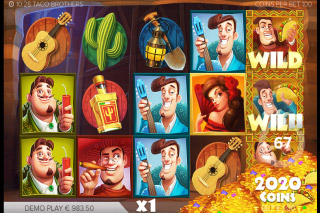 Taco Brothers Mobile Slot Free Spins