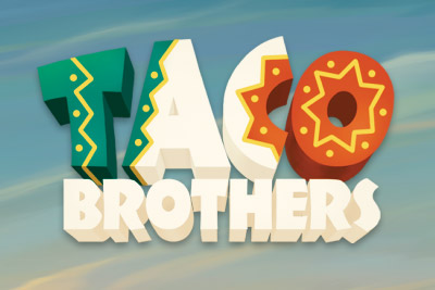 Taco Brothers Mobile Slot Logo