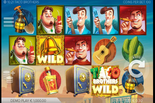 Taco Brothers Mobile Slot Reels