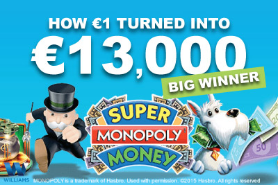 Super Monopoly Money Slot Big Winner