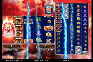 Zeus 1000 Mobile Slot Bonus