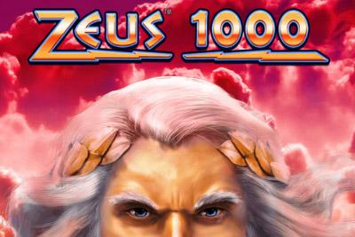 Zeus 1000 Mobile Slot Logo