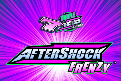 Aftershock Frenzy Mobile Slot Logo