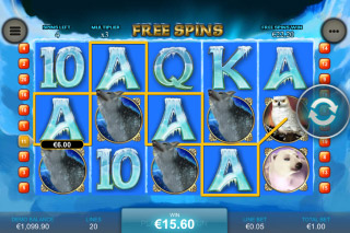 Arctic Treasure Mobile Slot Free Spins