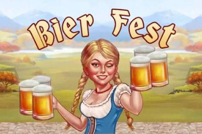 Bier Fest Mobile Slot Logo