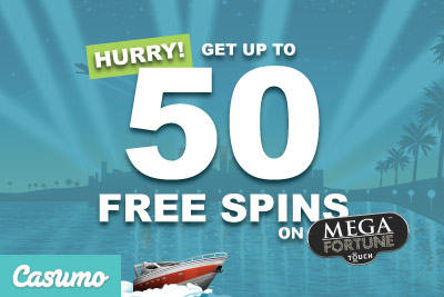 Hurry Get Up To 50 Mega Fortune Free Spins This Week