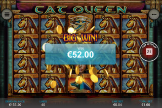 Cat Queen Mobile Slot Big Win