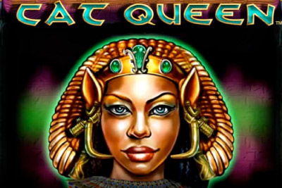 Cat Queen Mobile Slot Logo
