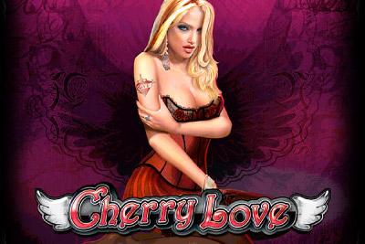 Cherry Love Mobile Slot Logo