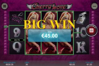 Cherry Love Mobile Slot Big Win