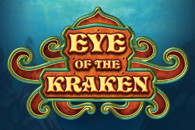 Eye of the Kraken Mobile Slot Logo