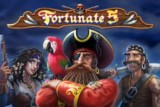 Fortunate 5 Mobile Slot Logo