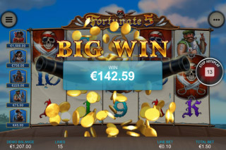 Fortunate 5 Mobile Slot Big Win
