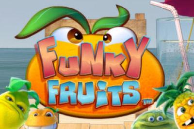 Funky Fruits Mobile Slot Logo