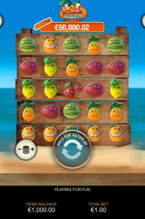 Funky Fruits Mobile Slot Reels