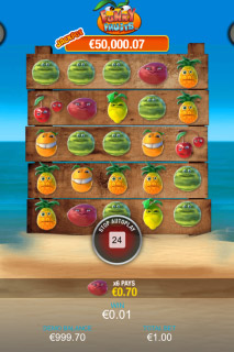 Funky Fruits Mobile Slot Win