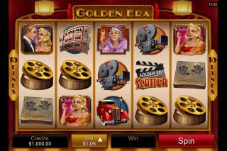 Golden Era Mobile Slot Reels