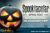 Get Your GoWild Free Spins This October In Their Spooktacular Spin Fest