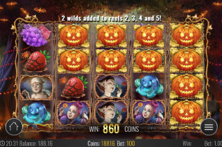 Happy Halloween Mobile Slot Free Spins