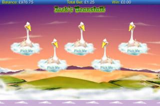 Jacks Beanstalk Mobile Slot Bonus Game