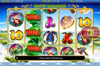 Jacks Beanstalk Mobile Slot Free Spins