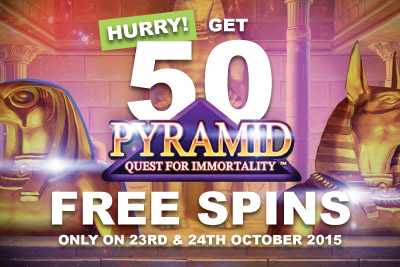 Hurry Get Your 50 Free Spins Bonus On New NetEnt Slot