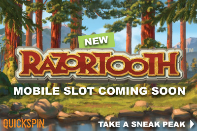 New Quickspin Razortooth Mobile Slot Coming Soon