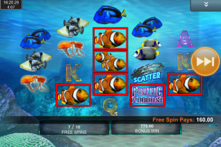 Pacific Paradise Mobile Slot Free Spins
