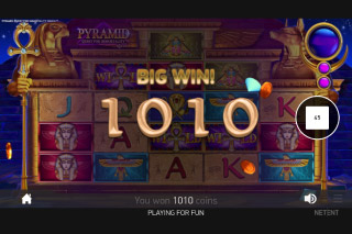 Pyramid Quest For Immortality Mobile Slot Big Win