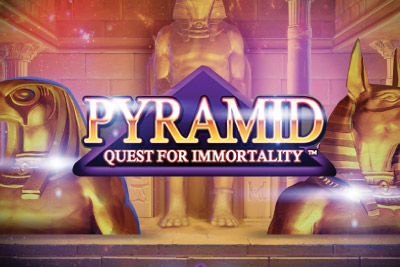Pyramid Quest For Immortality Mobile Slot Logo