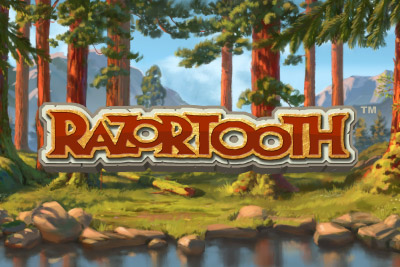 Razortooth Mobile Slot Logo