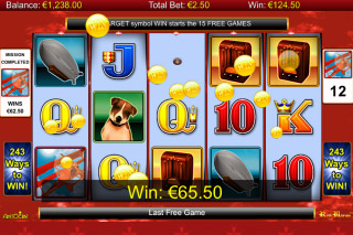 Red Baron Mobile Slot Free Spins Win