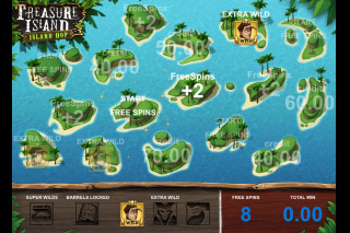 Treasure Island Mobile Slot Free Spins