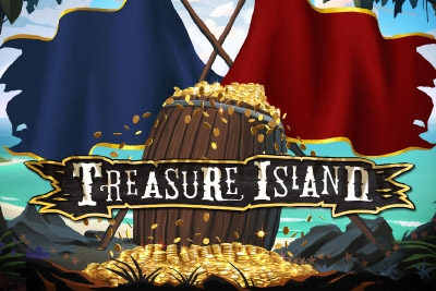 Treasure Island Mobile Slot Logo