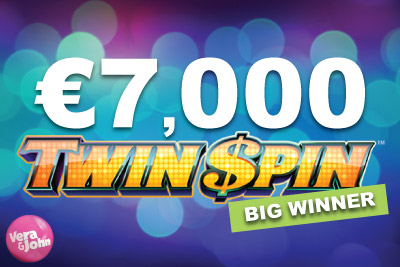 Topped Up Guaranteed Big Win On NetEnt's Twin Spin