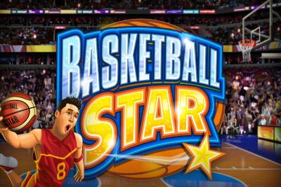 Basketball Star Mobile Slot Logo