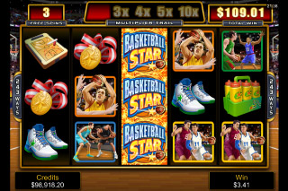Basketball Star Mobile Slot Free Spins