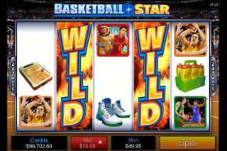 Basketball Star Mobile Slot Bonus