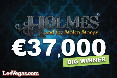 Holmes And The Stolen Stones Jackpot Slot Big Win