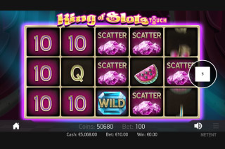 King Of Slots Mobile Slot Scatters