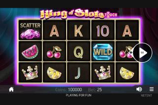 King Of Slots Mobile Slot Reels