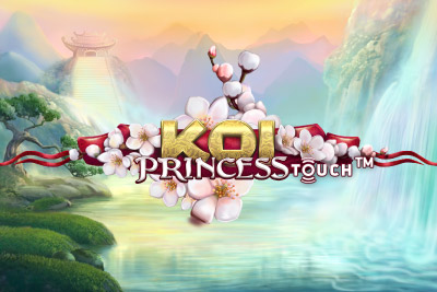 Koi Princess Mobile Slot Logo