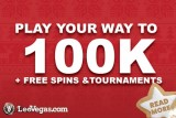Win Your Share Of 100K, Holidays And Get Free Spins Bonuses