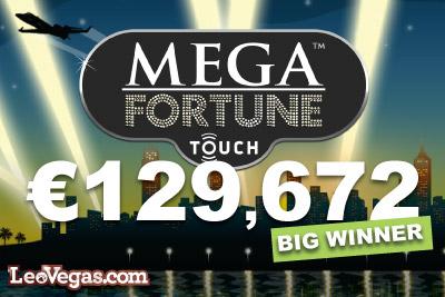 Meg Fortune Touch Slot Big Winner