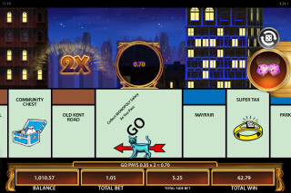 Monopoly Once Around Deluxe Mobile Slot Bonus