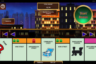 Monopoly Once Around Deluxe Mobile Slot Bonus Bets