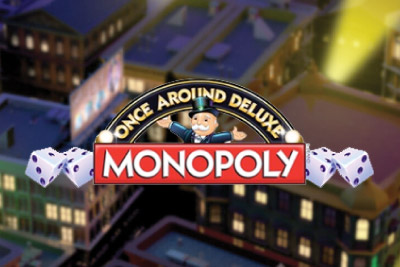 Monopoly Once Around Deluxe Mobile Slot Logo
