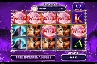 Moon Shadow Mobile Slot Free Spins