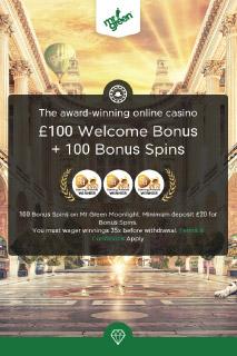 Mr Green Mobile Casino Bonus